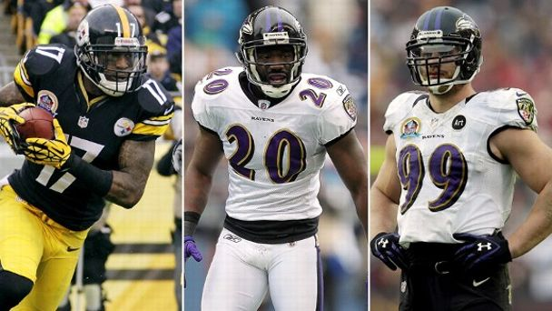 Mike Wallace, Ed Reed, Paul Kruger