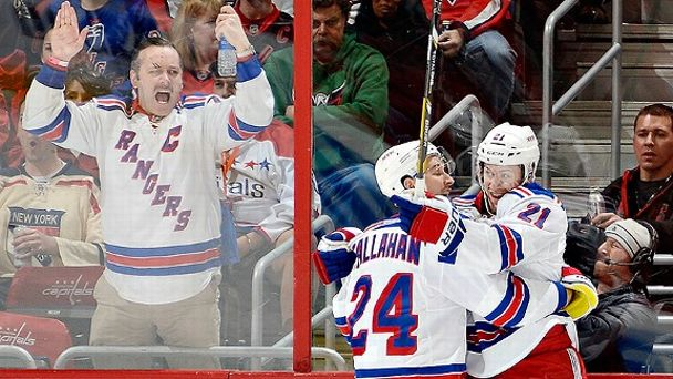 Rangers fan, Ryan Callahan, Derek Stepan