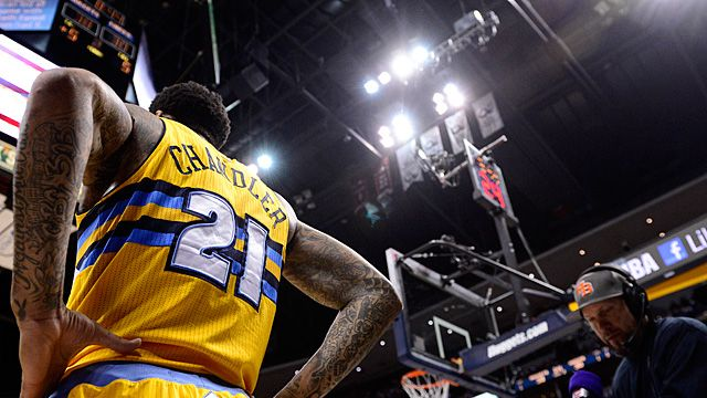 How Wilson Chandler Lights the Denver Nuggets' Fuse