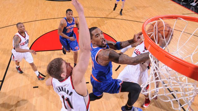 About Last Night: Knicks Ripped in Rip City