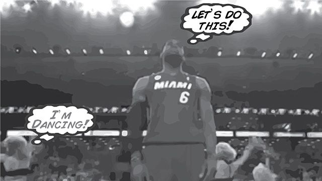 We Went There: Heat-Celtics, Comic-Book-Style