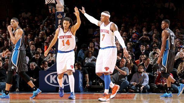 Chris Copeland and Carmelo Anthony
