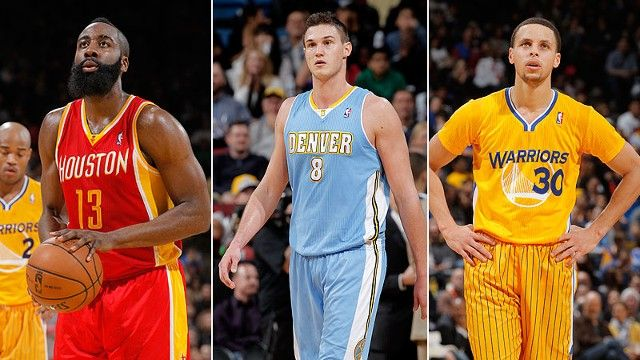What is the trendiest team in the NBA the Houston Rockets Denver Nuggets or Golden State Warriors Grantland