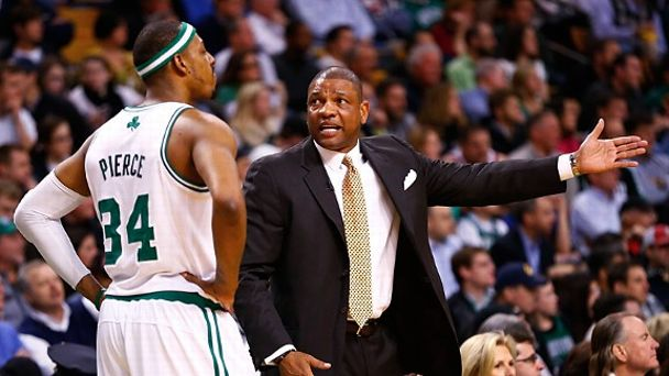 Paul Pierce and Doc Rivers