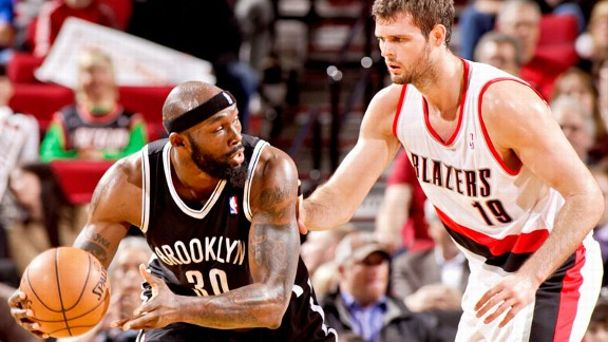 Reggie Evans and Joel Freeland