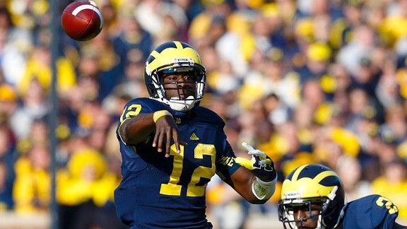 Denard Robinson - Stats & Info Blog - ESPN