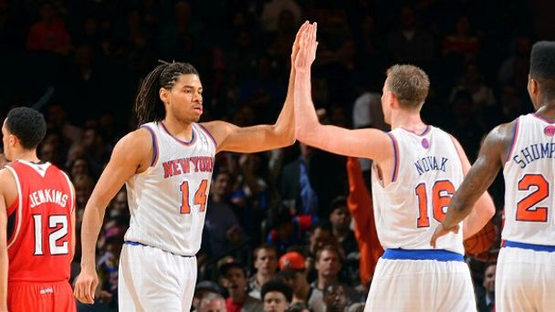 Chris Copeland, Steve Novak
