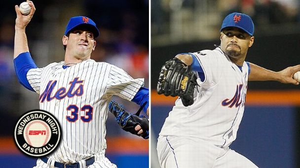 Matt Harvey and Johan Santana