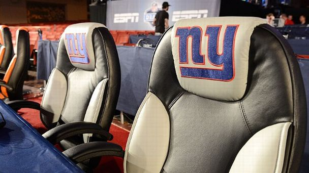 New York Giants' draft table