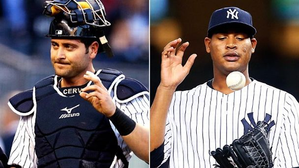 Francisco Cervelli and Ivan Nova