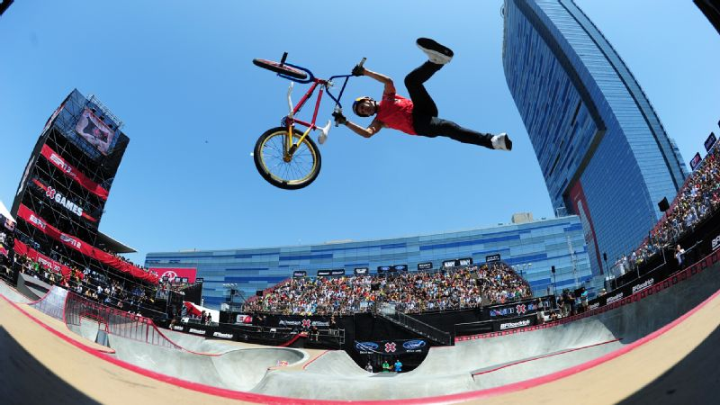 X Games cancels BMX Park and Vert and Skateboard Park for X Games