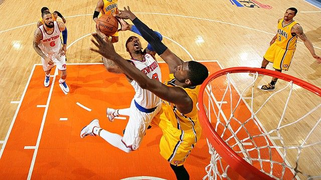 We Went There: Roy Hibbert and the Pacers Swat the Knicks