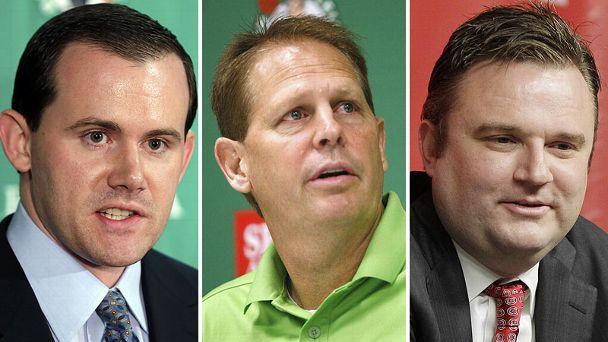 Ryan McDonough, Danny Ainge, and Daryl Morey