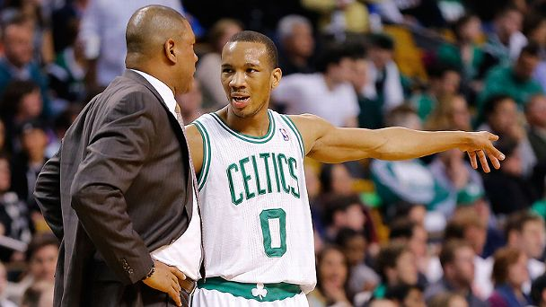 Avery Bradley and Doc Rivers