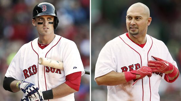 Will Middlebrooks, Shane Victorino