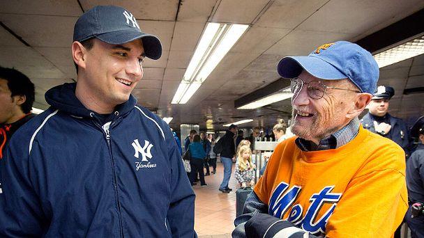 Mets-Yankees Fans