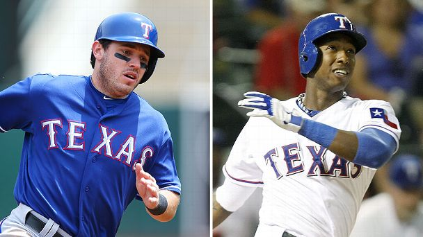 Ian Kinsler and Jurickson Profar