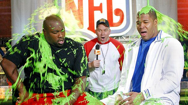 Warren Sapp & Michael Strahan