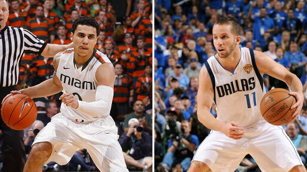 Shane Larkin and Jose Juan Barea