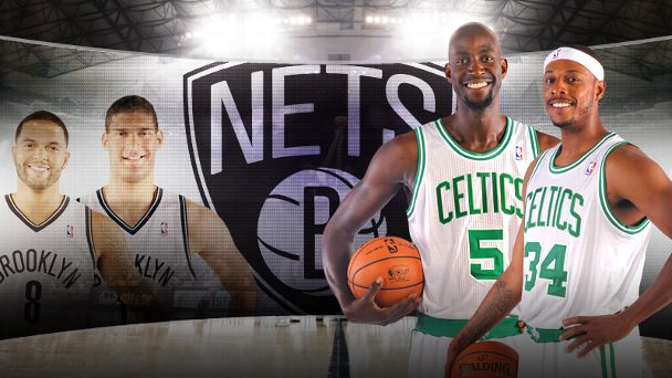 Celtics, Nets trade illustration