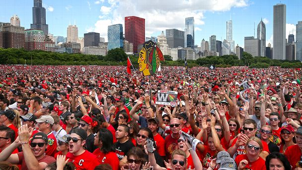 Chicago Blackhawks rally