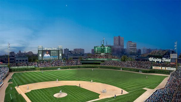 Wrigley Renderings