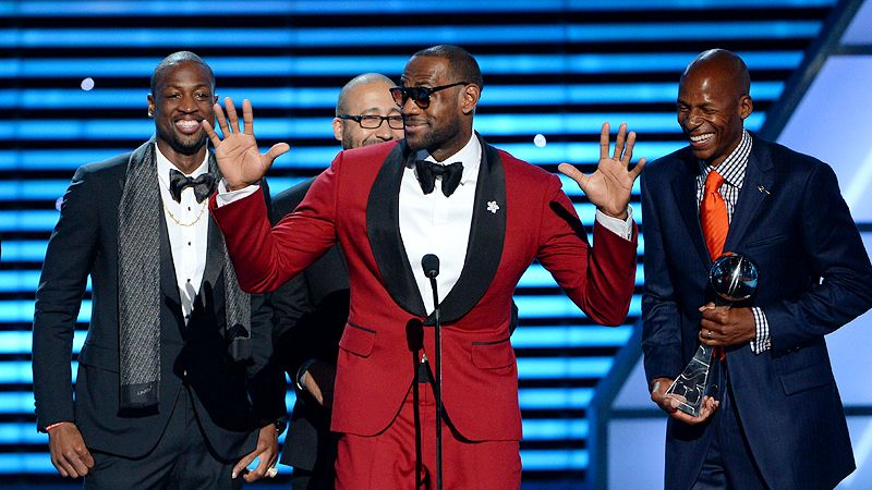 King of ESPYS: LeBron voted Best Athlete