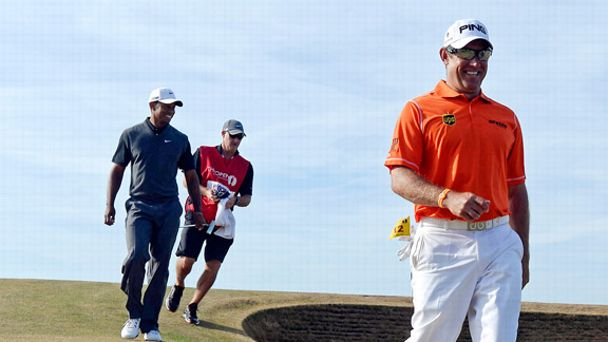 Lee Westwood, Tiger Woods