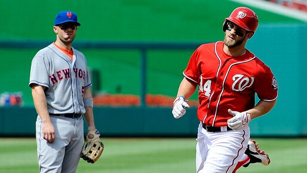 David Wright, Bryce Harper