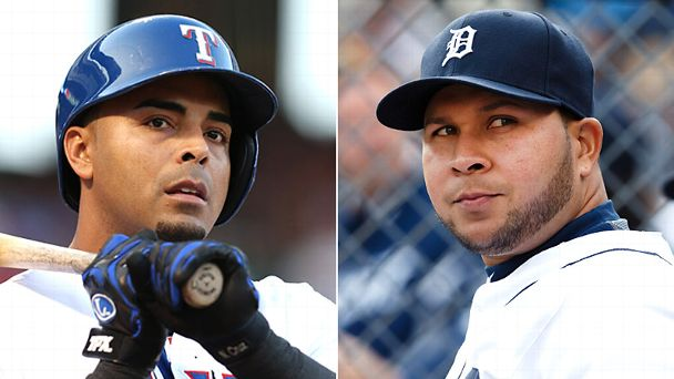Nelson Cruz and Jhonny Peralta