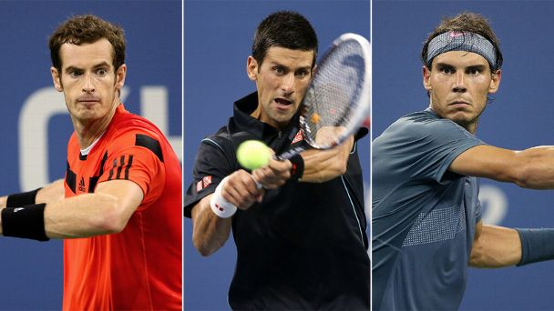 Andy Murray, Novak Djokovic, Rafael Nadal