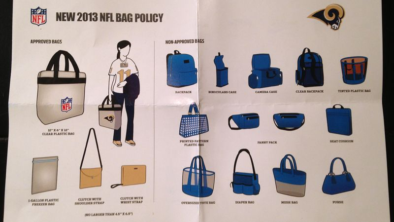 bb5b1b3689e espnW -- Sarah Spain's guide to beating the NFL bag ban