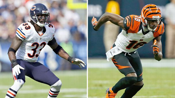 Charles Tillman and A.J. Green
