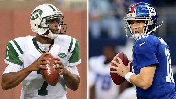 Jets And Giants Face Off