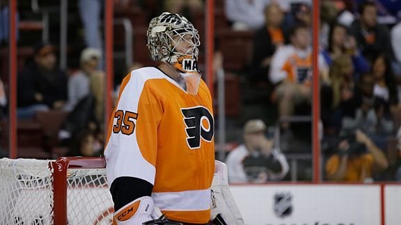 Philadelphia Flyers' Steve Mason