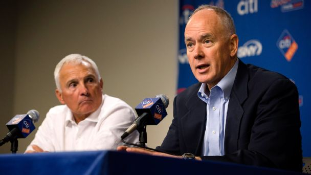 Terry Collins, Sandy Alderson