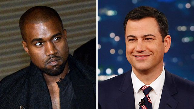 Kanye s Beef With Jimmy Kimmel Ends Tonight on Your Television Hollywood Prospectus Blog Grantland