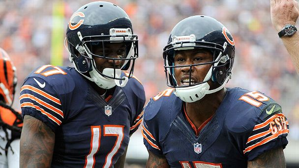 Brandon Marshall and Alshon Jeffery