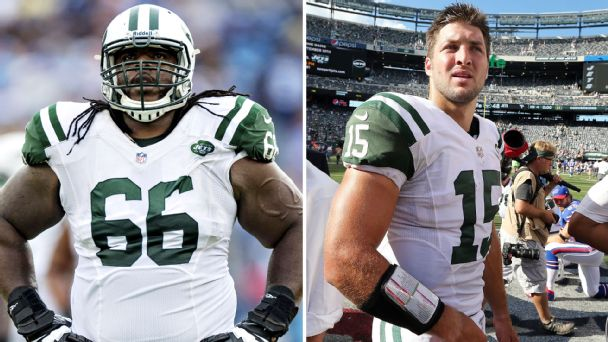 Willie Colon, Tim Tebow