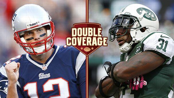 Tom Brady and Antonio Cromartie