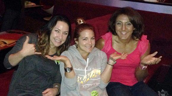 Elana Meyers, Elena Hight, and Alana Nichols