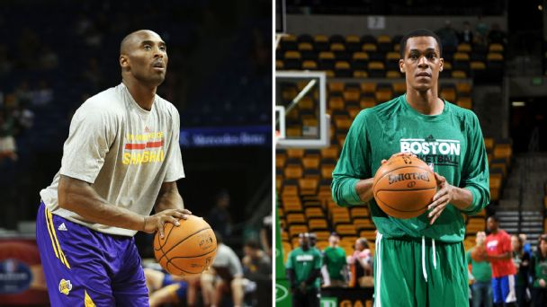Kobe Bryant, Rajon Rondo