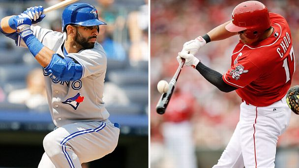 Jose Bautista and Shin-Soo Choo