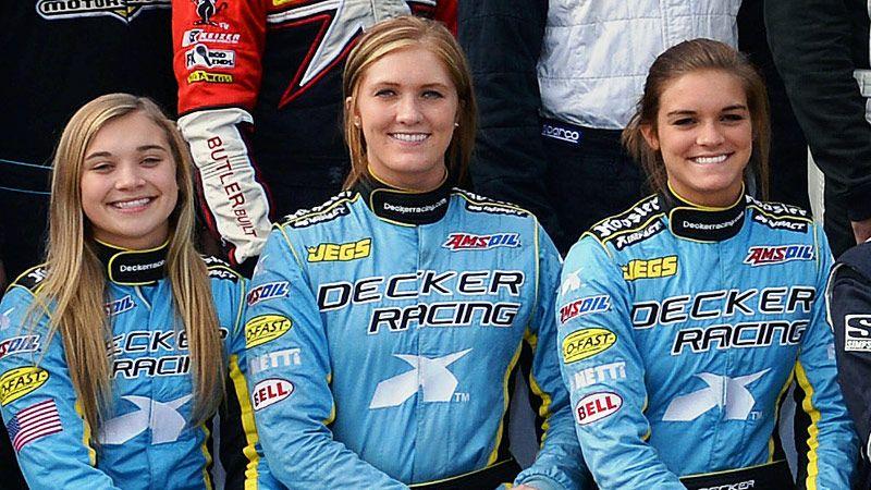 espnW -- Paige, Claire and Natalie Decker have Danica