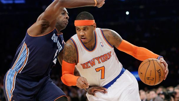 Carmelo Anthony, Anthony Tolliver