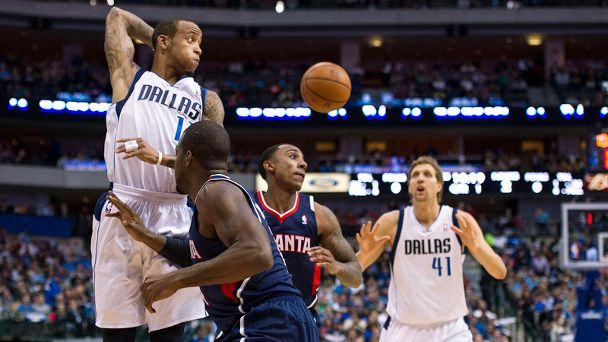 Monta Ellis, Jeff Teague, Dirk Nowitzki