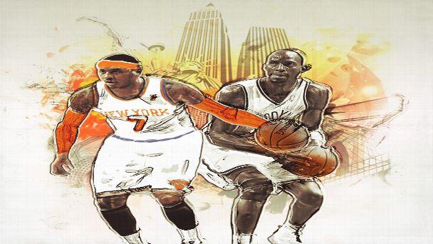 Knicks-Nets Opening Day
