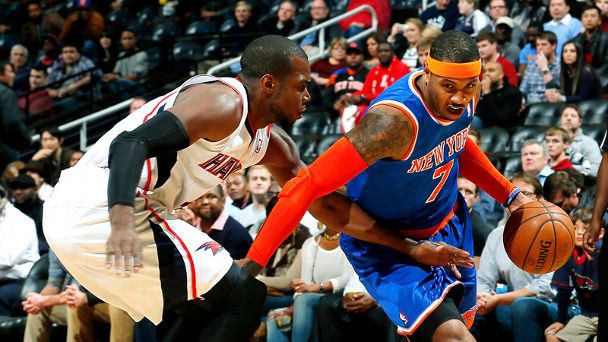 Carmelo Anthony, Paul Millsap