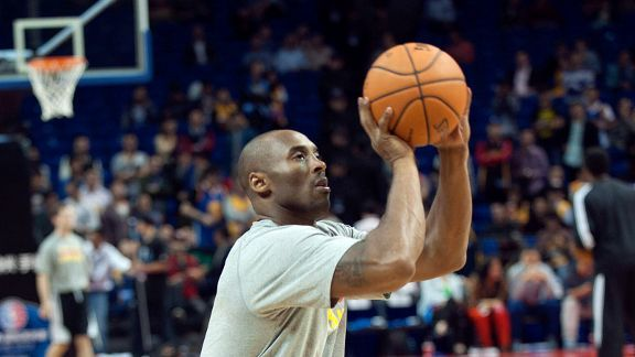 Top stats to know: Kobe Bryant's return