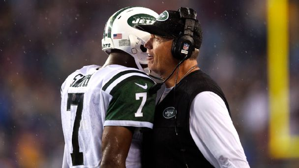 Geno Smith, Rex Ryan